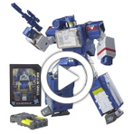 Transformers Generations Titans Return Soundwave and Soundblaster - 360 video